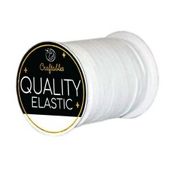 Elastic Band Sewing Elastic Band Rope Cord String for making mask 1 8quot; amp; 1 4quot; $6.99