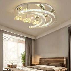 Modern Crystal LED Ceiling Lamp Light Chandeliers amp; Ceiling Fixtures $61.07