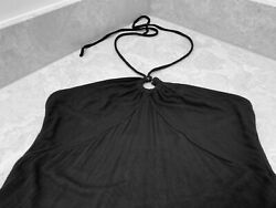 Michael Kors Black Halter Top Size Small