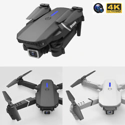 RC Foldable Drone Quadcopter With Wide Angle 4K HD FPV Dual Camera WiFi $66.99