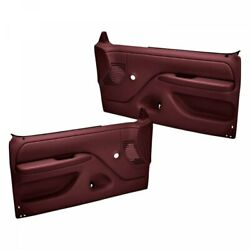 Coverlay 12 92N MR for 1992 Ford F150 Replacement Door Panels Pair Maroon $420.00