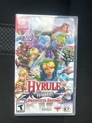 Hyrule Warriors: Definitive Edition Nintendo Switch 2018 Brand New Free Ship $79.73