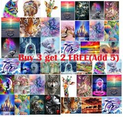 Lovely Full Drill DIY Art 5D Diamond Painting Embroidery Cross Stitch Canvas Kit $9.89
