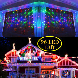 CHRISTMAS LED MULTI COLOR SNOWING ICICLE LAMP PARTY WEDDING XMAS OUTDOOR LIGHTS