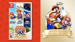 Super Mario 3D All Stars Nintendo Switch PHYSICAL EDITION ON HAND $89.90