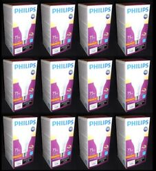 12 Philips Light A21 LED Lamp Dimmable 12W 2700K Soft White Equivalent 75 Watts