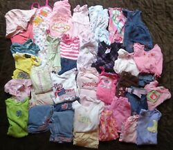 47 Piece Childrens Size 18 Month Spring Summer Girls Child Clothing Lot Outfits $125.00