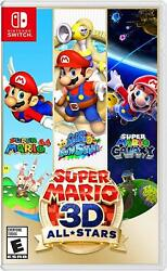 Super Mario 3D All Stars Nintendo Switch $46.99