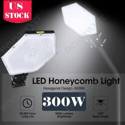 30000LM LED Street Light Outdoor Commercial IP67 Dusk to Dawn Road Lamp A New