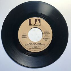 Soul 45 Bobby Womack Across 110th Street Hang On In There Tested EX $50.00