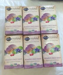 Garden of Life MyKind Women#x27;s Once Daily Organic MultiVitamin Lot Of 6 $60.00