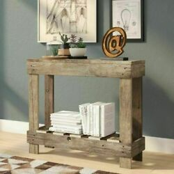Entryway Table Narrow Rustic Farm Country Small Entry Hall Console Foyer Sofa $129.95