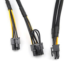 For HP DL380 G8 10pin to 6pin and 8pin Power Adapter GPU Cable 50cm ship @US $15.73
