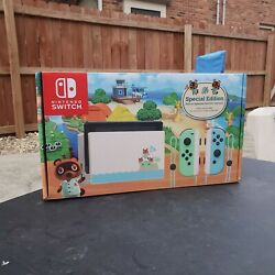 Nintendo Switch Animal Crossing Console New Horizons Special Edition New $449.95