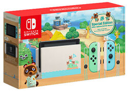Nintendo Switch Animal Crossing: New Horizon Special Edition Console IN HAND $480.00