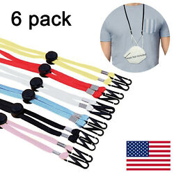 6 PCS Ear SaversAdjustable Mask LanyardFace Mask ExtenderMask Strap Holder $6.99