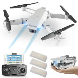 Cooligg FPV Wifi RC Drone With HD Camera Foldable Quadcopter Selfie 4K 1080P Toy $59.99
