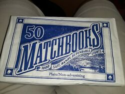 50 Plain Matches Matchbooks Birthday Candle Wholesale Commercial Convenience BBQ