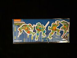 nickelodeon 2018 Exclusive Loot Crate Teenage Mutant Ninja Turtles Magnet Set $6.00