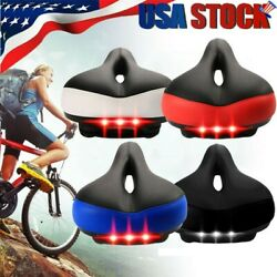 Bicycle Wide Big Bum Bike Gel Extra Comfort Sporty Soft Pad Cycling Seat Saddle $16.49