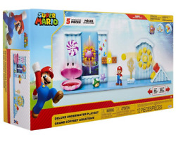 World of Nintendo Super Mario Deluxe Underwater Playset NIB SEALED FREE SHIPPING $33.99