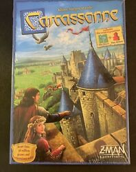CARCASSONNE GAME NEW IN BOX KLAUS JURGEN WREDE MINI EXPANSION INCLUDED CLASSIC $21.99