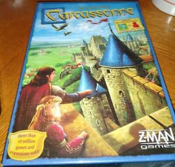 Carcassonne by Klaus Jurgen Wrede Includes Mini Expansions The River amp; The Abbot $20.00
