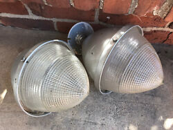 Antique Pair of Light Fixtures Cone Shaped. Needs TLC $195.00
