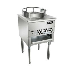 KITMA 16quot; Gas Wok Range Commercial Liquid Propane Cooking Performance Group... $773.53