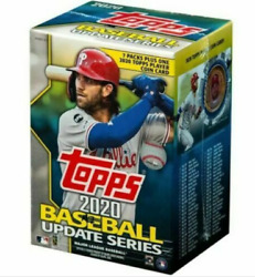 2020 Topps Update Blaster Box 7 Packs 14 Cards: 1 Coin Card $20.97