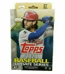 2020 Topps Update Hanger Box 1 Pack 67 Cards: 6 Inserts $12.97