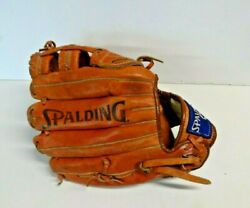 Spalding Pro Caliber B 120 Baseball Glove Cabretta Leather 12quot; Right Thrower RHT $26.99