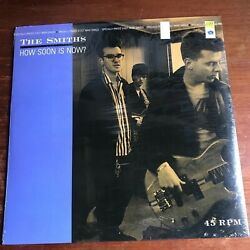 The Smiths How Soon is Now? 3 Cut Maxi 12quot; 1984 9 20284 0 FULL SHRINK NM $50.00