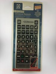 EMERSON Jumbo Universal Remote Large Buttons for TV VCR DVD NEW $19.99