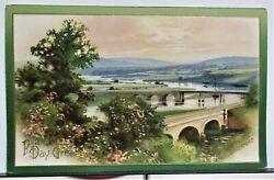 ST. PATRICK#x27;S DAY At Cappaquin Co. Waterford Antique 1909 Scenic Postcard Nice $4.44