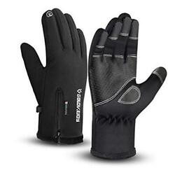 Waterproof Gloves Winter Warm Touchscreen Gloves for Men Cycling Running Climbin $27.48