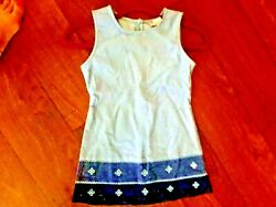 NWOT Girls Size Small Corduroy Jumper Dress Blue New Without Tags $4.05