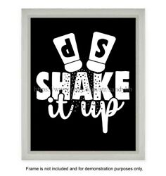 bedroom store Shake it up funny kitchen art 8x10quot; print $4.99