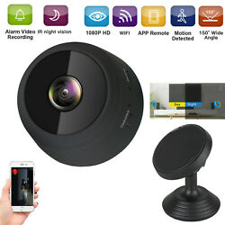 HD 1080P Wifi Wireless IP Mini Camera CCTV Video DVR Remote Camera Car Dash Cam $18.79