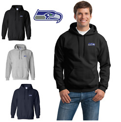 Seattle Seahawks Hooded Sweat Shirts Embroidered up to 5x $23.95