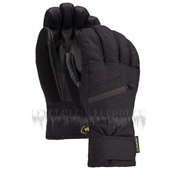 BURTON Mens 2021 Snowboard Snow Gore tex Under Gloves Black $69.95