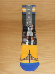 1 Pair STANCE Golden State Warriors NBA STEPH CURRY CLAY THOMPSON L 9 12 Socks $9.99