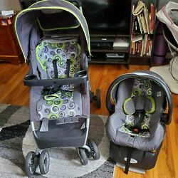 Used Evenflo Stroller with Car Sit $48.00