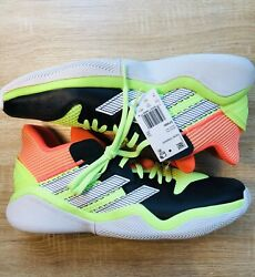 Adidas Harden Stepback Men#x27;s Basketball Shoes Mens Size 14 EF9890 New In Box $59.99