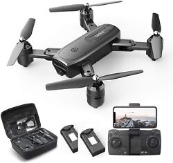 Holy Stone D30 HS350 FPV RC Drone with 1080P HD Camera Foldable Quad 2 Batteries $69.00