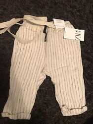 New ZARA Toddler Boys Dress Pants Size 12 18 Months Softly Lined $15.90