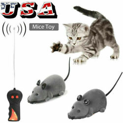 Wireless Remote Control RC Rat Electronic Mouse For Cat Dog Pet Toy Novelty US $8.59
