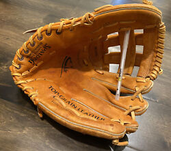 Spalding Pro Model Adult Men#x27;s Leather Baseball Glove #42 697 LH $39.99
