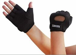 Cycling Gym Gloves Fingerless for car racing Cycling Black S $37.00