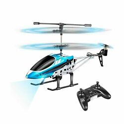 VATOS RC Helicopters Remote Control Helicopter with Gyro and LED Light 3 Cha... $38.79